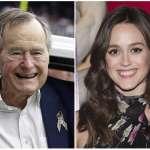 坐輪椅還能伸鹹豬手?美國女星控訴93歲的前總統非禮 老布希被迫兩度道歉