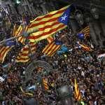 在歐洲的中心與角落呼喊獨立「我們也要當加泰隆尼亞!」