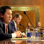 美第五巡迴上訴法院法官提名聽證會 被提名人何俊宇來自台灣
