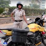 女波麗士出巡!印度「性侵之都」警察局組機車巡邏隊 清一色女警打擊性犯罪