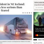 24台灣旅客冰島出車禍 外交部:已至醫院包紮後繼續行程