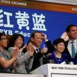 「北京公安澄清稿與紐約股市開市幾乎同步」紅黃藍股價強力反彈