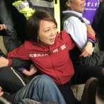 「過去民進黨聲援學運,現在只剩一個林淑芬!」台大教授范雲反勞基法、衝向立院鐵門