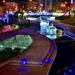 全國首棵「水中耶誕樹」今晚台中登場 萬燈齊放照亮柳川