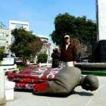 孫文會冷!藍議員帶棉被看孫文銅像,南市文化局提案放議會