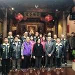 蔡英文赴竹市上香祈福 民代盼林智堅為民眾發聲