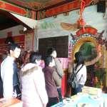 台中財神廟湧求財人潮 全新3D彩繪財神洞吸睛