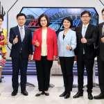 民進黨高雄市長二次辯論會 趙天麟電視民調再度領先