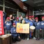 張花冠台北首度快閃 與鄒族小朋友齊唱宣傳嘉義燈會