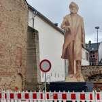 「打著馬克思名義踐踏人權」紀念馬克思誕辰200周年中國贈雕像與德國 引發人權組織抗議