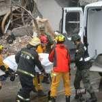 大家辛苦了!地震救出223人 還有85人失聯