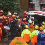 「地震發生時仍堅守在工作崗位上」 漂亮旅店員工江振昌遺體抬出 家屬痛心淚流