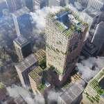 日本人就是狂!挑戰用木頭建最高摩天樓,還能耐震耐颱風,東京將成真正「都市叢林」!