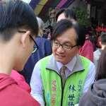 民進黨彰化市長初選民調 林世賢領先9%擊敗對手賴岸璋