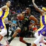 NBA》全隊9人得分上雙 湖人輕取老鷹3連勝