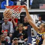 NBA》法國外援戈貝爾出色 爵士10戰8勝要拚季後賽