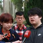 潑漆青年赴監院促調查檢警 陳師孟:義不容辭