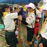 慶祝35童軍節 雲林縣1500名童軍集結大露營