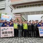 中市4隊爭國高中甲排聯賽冠軍 林佳龍授旗打氣