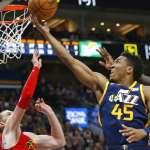 NBA》爵士米契爾縱橫全場砍26分 教練讚不絕口