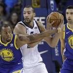 NBA》勇士傷兵累累 板凳當先發不敵爵士