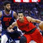 NBA》威少關鍵時刻犯滿 雷霆3分之差不敵拓荒者
