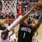 NBA》哈登休保羅船長領航 火箭肢解公牛10連勝