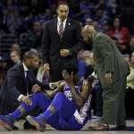NBA》安比德眼眶骨折將動刀 預計缺席首輪季後賽