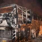 泰國巴士火燒車 20名緬甸移工葬生火窟 3人受傷
