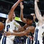 NBA》終場前3秒抄截追平 金塊砸暈公鹿延長賽取勝