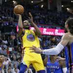 NBA》杜蘭特被噓照砍34分 勇士踢館雷霆成功