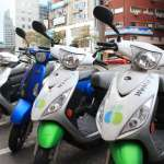 共享機車Umotor上路1年多 1000輛電動機車遍及北市11區