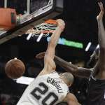 NBA》馬刺靠老將力挽狂瀾 西區第5闖進季後賽