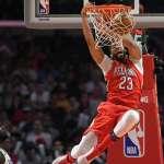 NBA季後賽》戴維斯一肩扛起鵜鶘 小宇宙能燃燒多久?