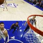 NBA季後賽》76人重返季後賽第一戰 18記三分球澆熄熱火