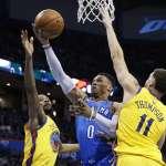 NBA季後賽》三巨頭引領雷霆 強碰季後賽列強