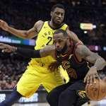 NBA季後賽》詹姆斯飆分模式 騎士扳平戰局