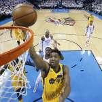 NBA季後賽》盧比歐初嚐季後賽勝利 爵士擊敗雷霆