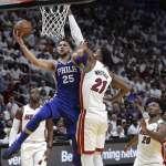 NBA季後賽》魔術強森再現!西蒙斯大三元領軍76人「聽牌」