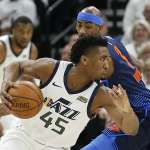 NBA季後賽》雷霆雙拳難敵四手 爵士點點開花搶聽牌