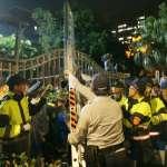 八百壯士衝立院爆衝突 蔡英文:不會在暴力下低頭