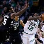 NBA季後賽》布雷索與洛齊爾互相推擠 裁判也遭殃