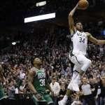 NBA季後賽》希臘怪物左幌右搖大跨步 公鹿闖進第7戰