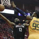 NBA季後賽》哈登就是哈登 火箭撕裂爵士防守拿下次輪首勝