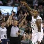 NBA季後賽》綠衫軍17記三分 76人無力招架