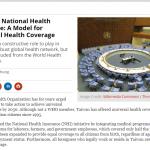 陳時中投書《外交家》雜誌 籲挺台參與WHA與全球一起實現健康最終目標
