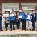 新竹藍軍發怒吼!支持大學自治 反對政治黑手伸入校園