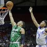 NBA季後賽》傳奇球星J博士:76人狀元籤應選泰托姆