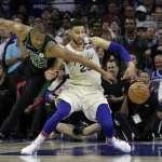 NBA季後賽》以為贏定了 比賽沒結束76人先慶祝