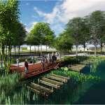 花博后里園區「Palakaw水中花園」 傳遞原民生活哲學